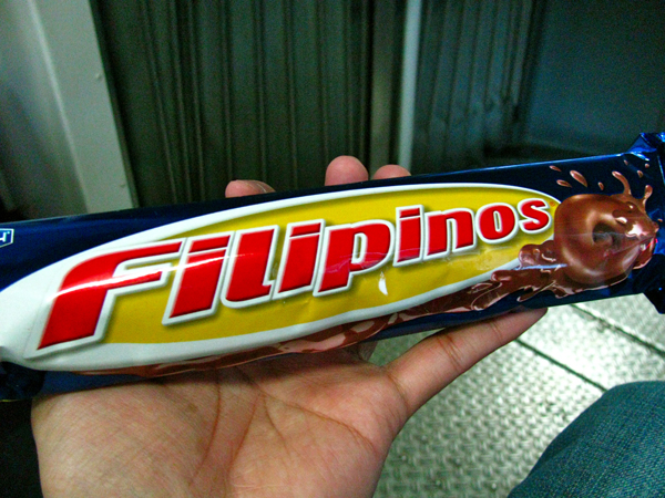 """Eat Filipinos and you'll see"""