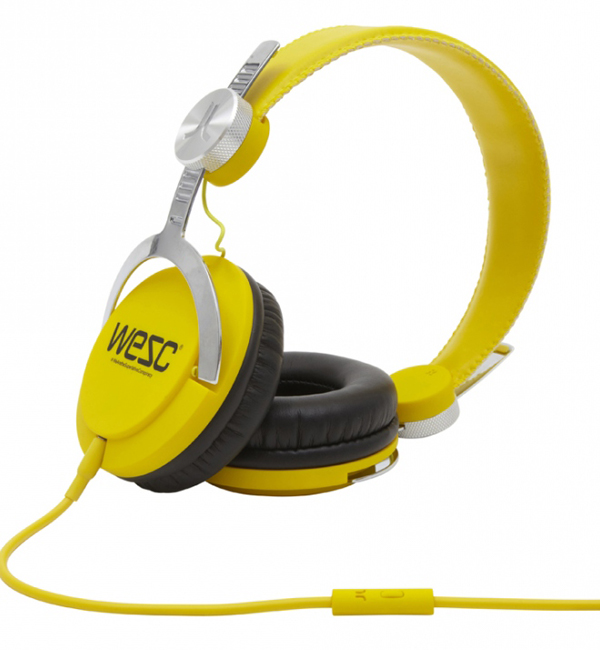 wesc bass dj dandelion headphones