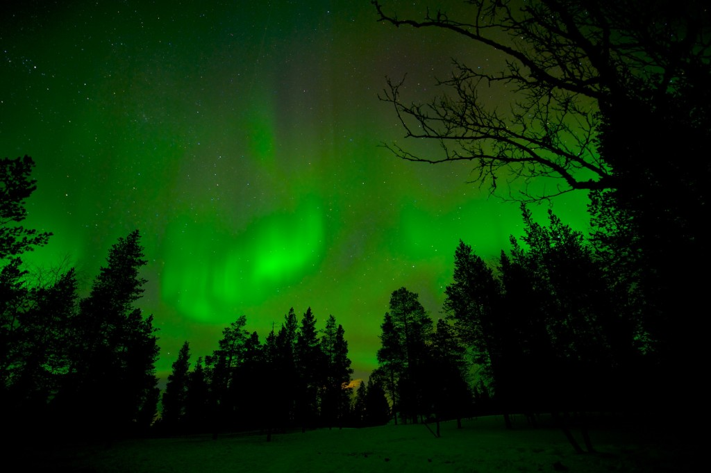 Nothern Lights photoshoot, Finland,