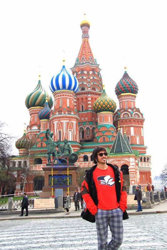 at the Red Square in Moscow