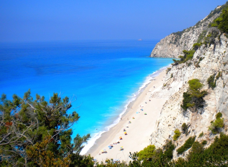 02 Egremni beach lefkada greece