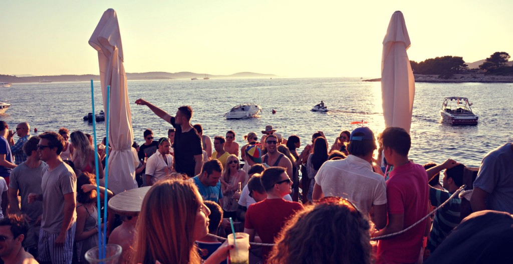 hula hula hvar beach party clubbing croatia