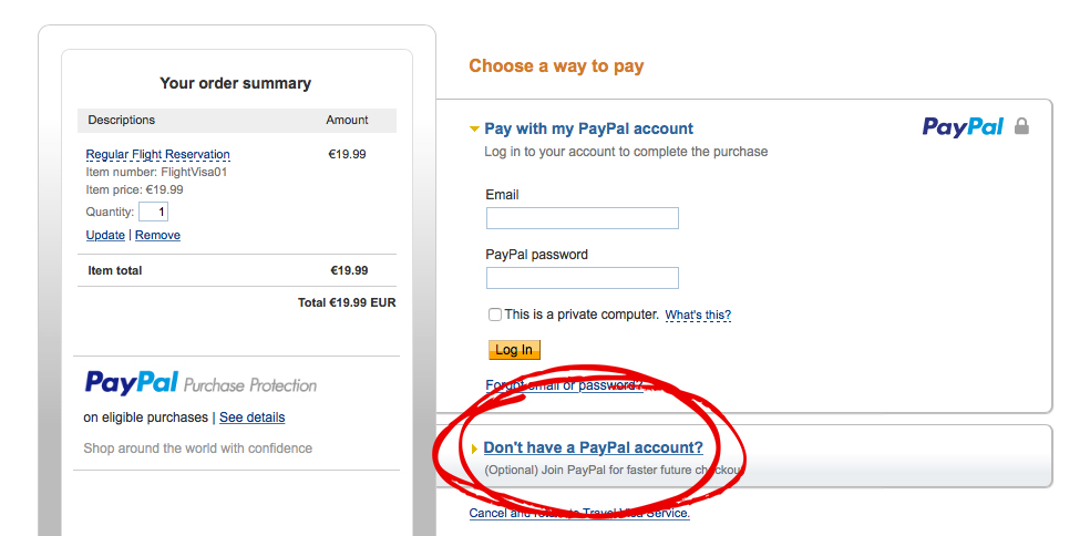 how to receive money via paypal without fees