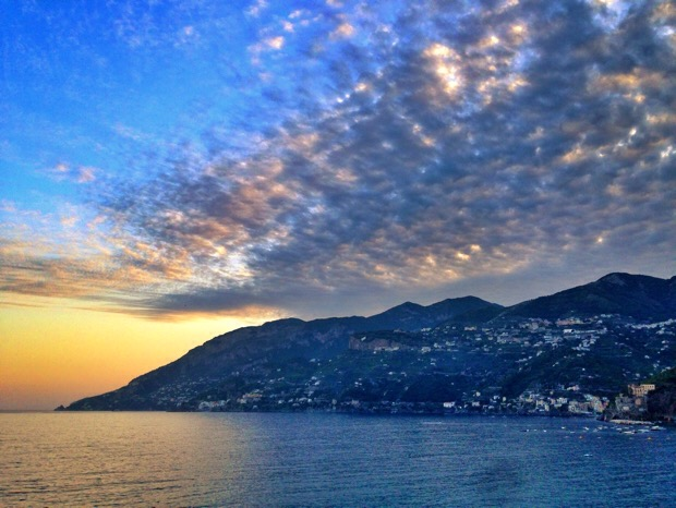 1 sunset amalfi