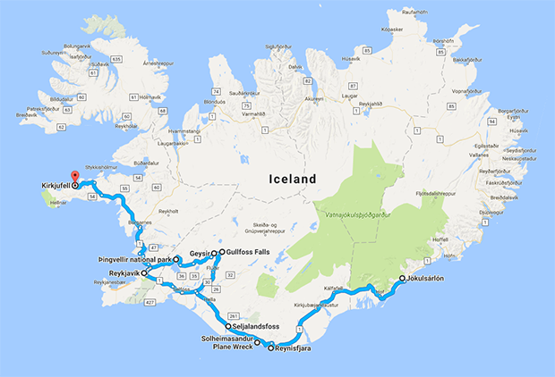 7 Day Iceland Road Trip Itinerary In Summer Dream Euro Trip