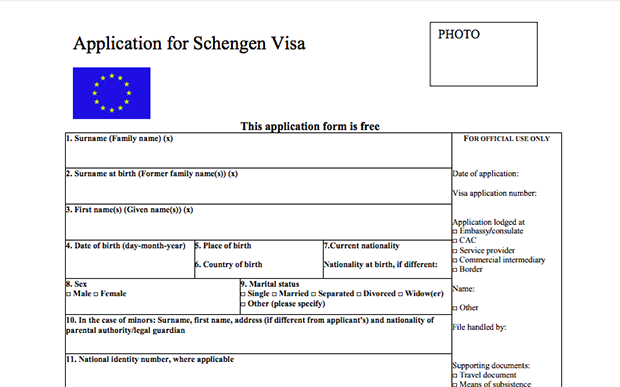 Schengen Visa Application Requirements: The Complete List – Dream ...